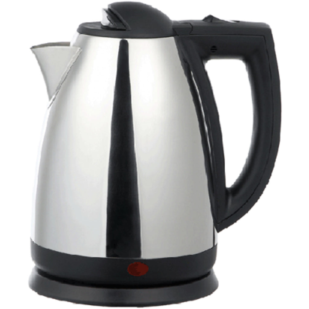 Brentwood 2.0 L Stainless Steel Electric Cordless Tea Kettle 1000W (Brushed)