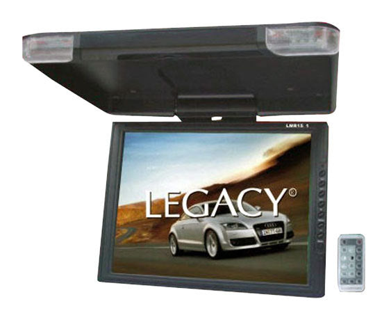 High Resolution TFT Roof Mount Monitor w/ IR Transmitter & Wireless Remote Control
