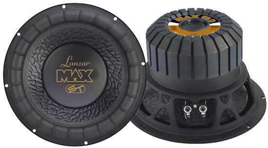 Max 12'' 1000 Watt Small Enclosure Dual 4 Ohm Subwoofer