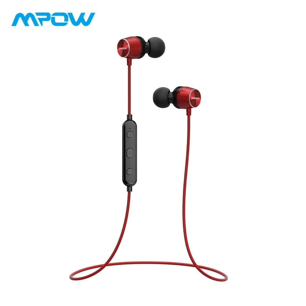 Mpow Judge Bluetooth Earphones Magnetic IPX7 Waterproof Sport Earphone Wireless Earbuds With Microphone For iPhone X/8/7/6