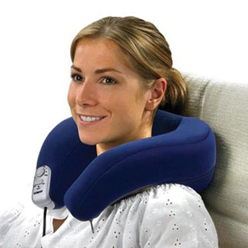 Massaging Neck Rest w/Heat Cordless--Body Benefits