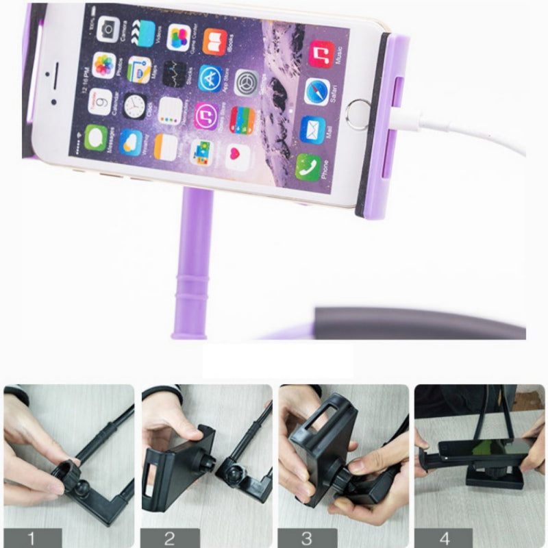Lazy Hanging Neck Phone Stands Necklace Cellphone Support Bracket for Samsung Universal Holder for iphone