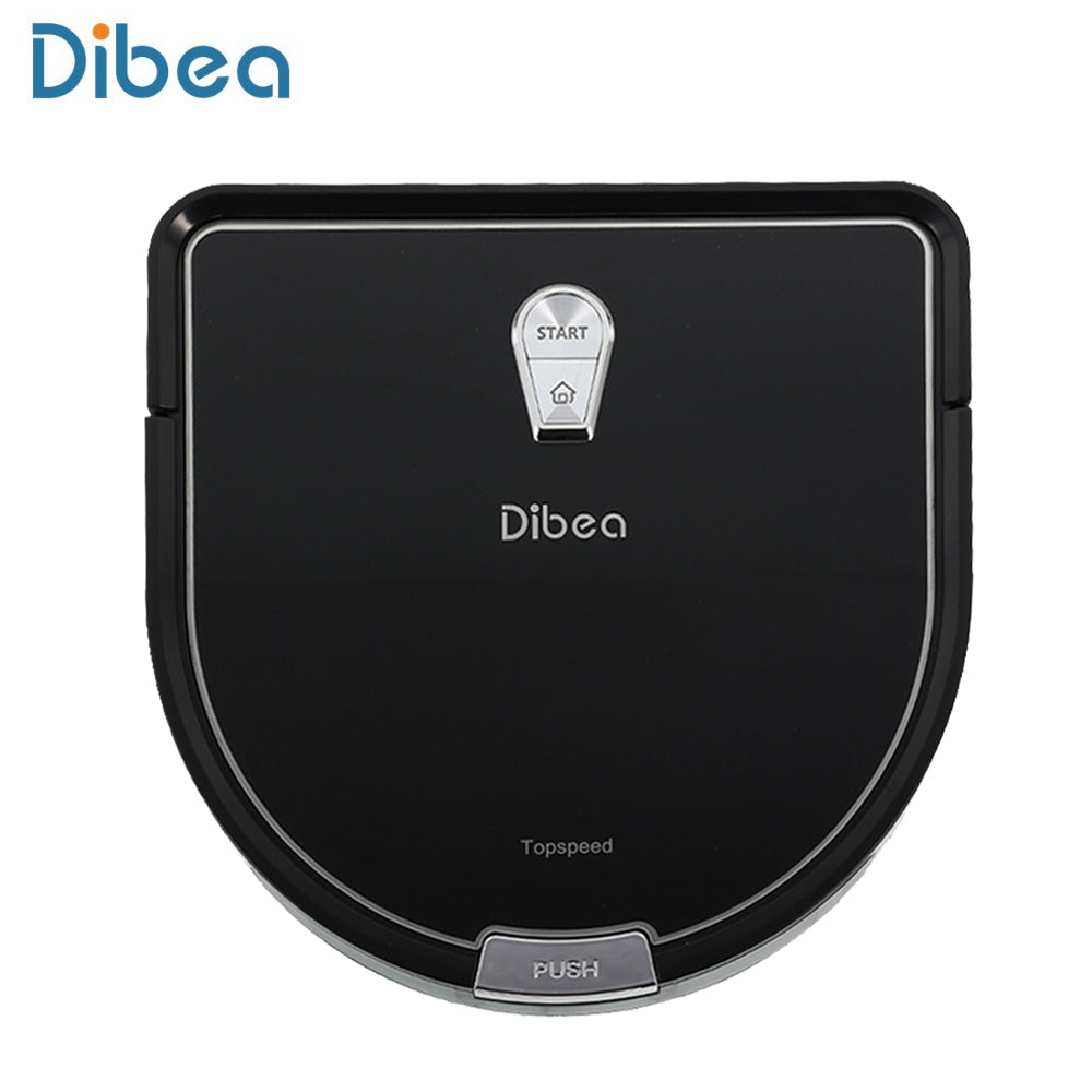Dibea Sweeper Robot Vacuum Cleaner Household Aspirator D-shape Ultra-slim Cleaner Smart Vacuum Cleaner with Wet Mopping