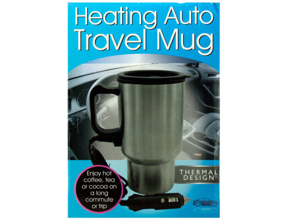 Heating Auto Travel Mug ( Case of 3 )