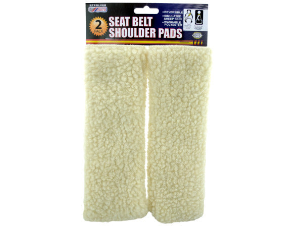 Seat Belt Shoulder Pads Set ( Case of 4 )