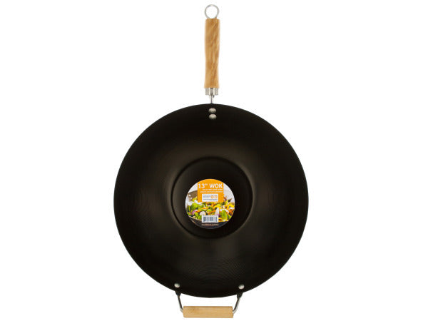 Wok with Easy to Clean Coated Surface ( Case of 4 )