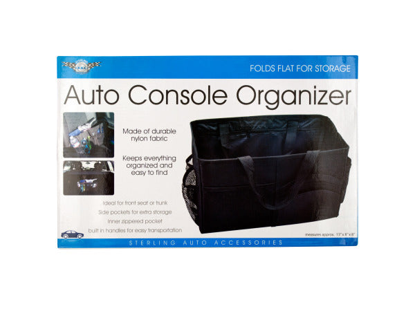 Auto Console Organizer with Multiple Pockets ( Case of 8 )