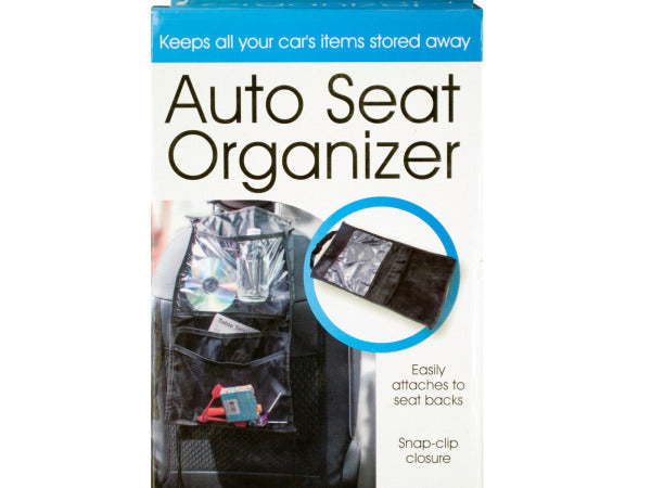 Auto Seat Organizer ( Case of 8 )