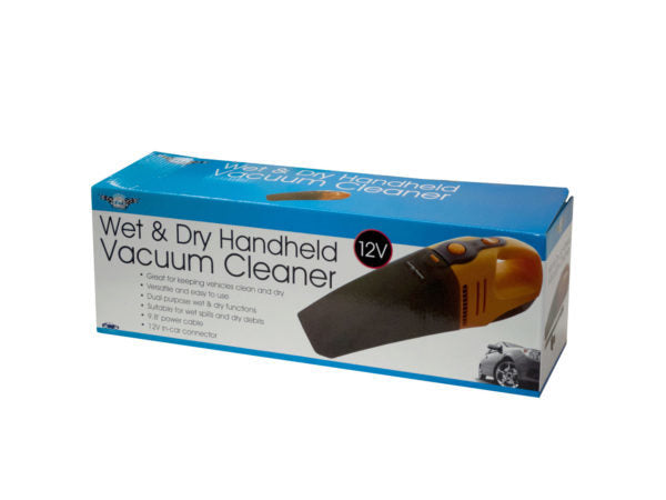 Auto Wet & Dry Handheld Vacuum Cleaner ( Case of 3 )