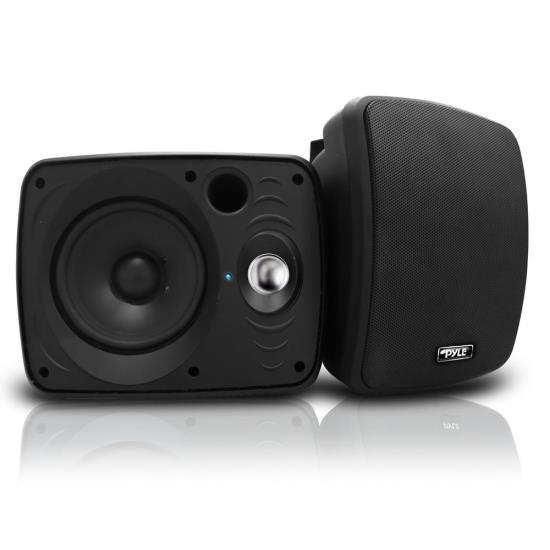 Waterproof & Bluetooth 6.5'' Indoor / Outdoor Speaker System, 800 Watt, Black
