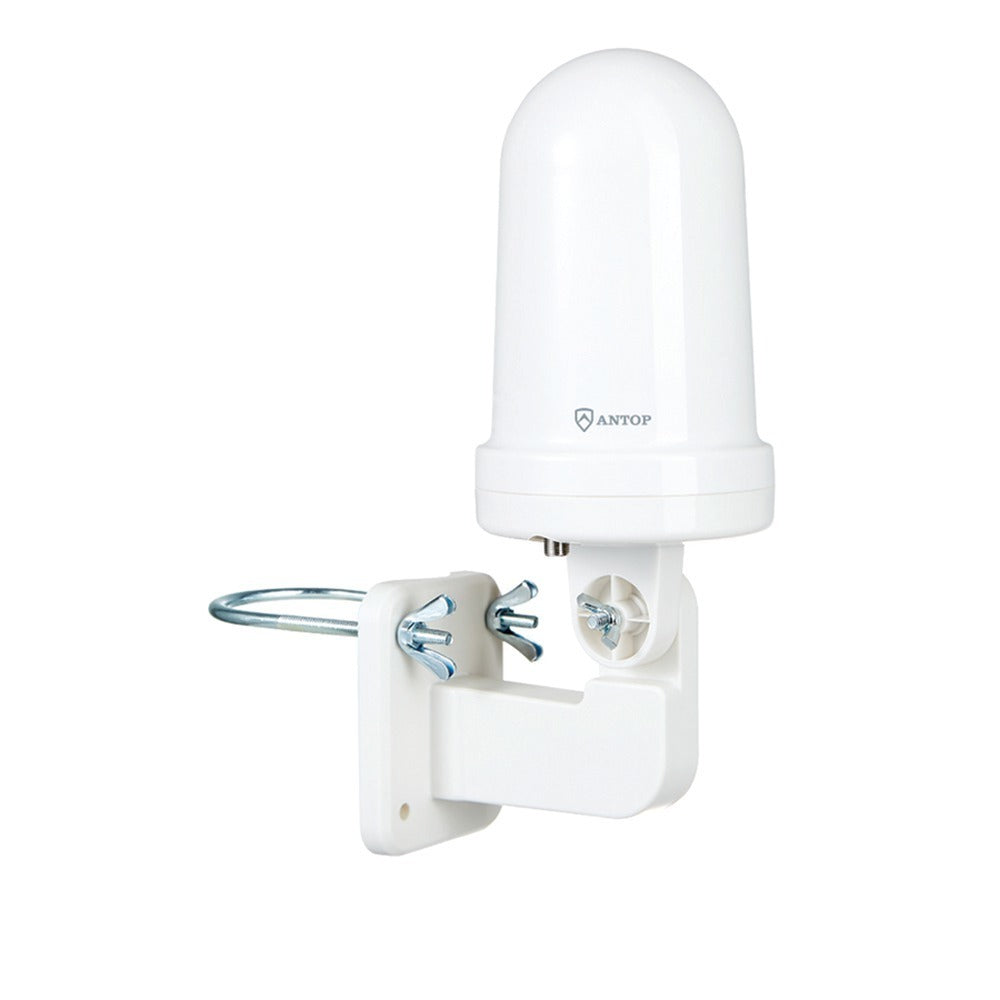 ANTOP(R) Antenna Inc. AT-416B AT-416B UFO Smartpass Amplified Indoor/Outdoor HDTV Antenna