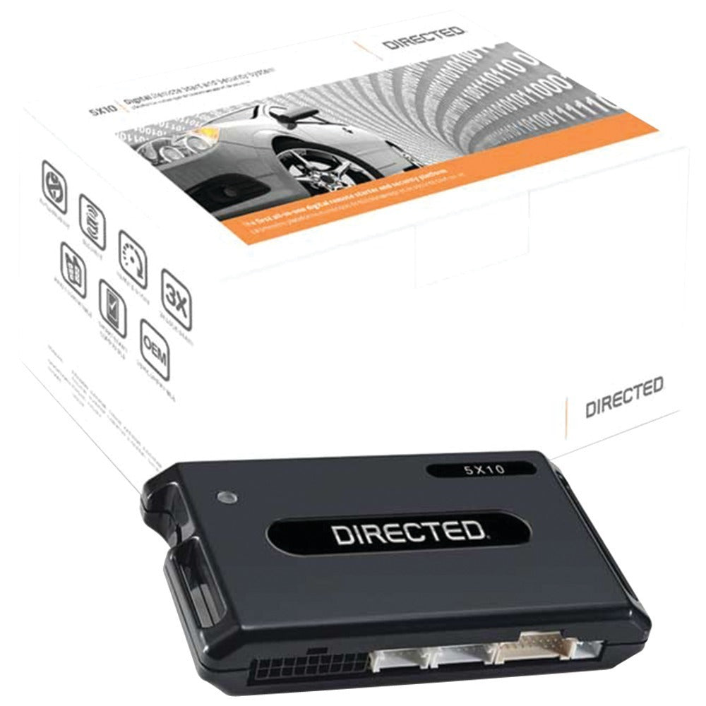 Directed(R) Digital Systems 5X10 Directed(R) 5X10 Digital Remote-Start & Security System with 3LS