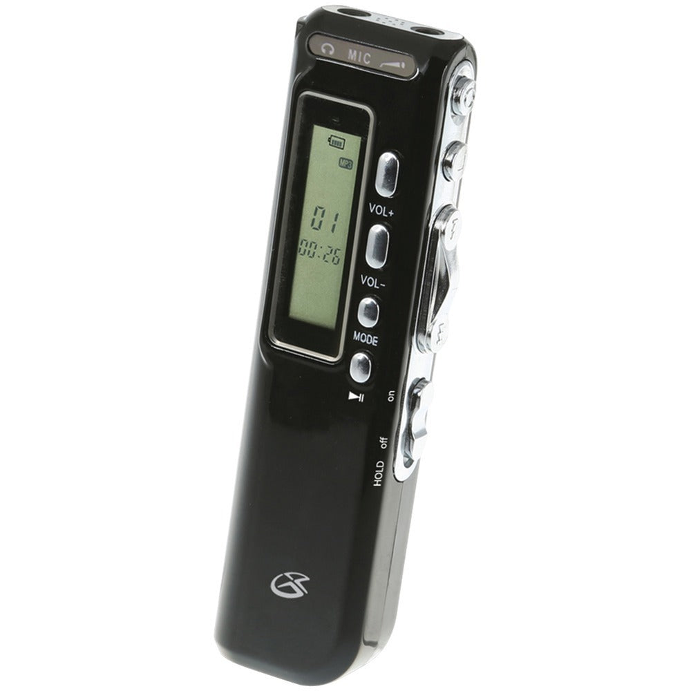 GPX(R) PR047B Digital Voice Recorder