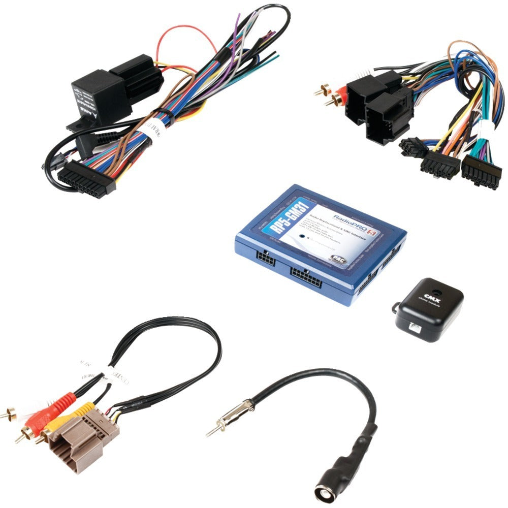 PAC(R) RP5-GM31 All-in-One Radio Replacement & Steering Wheel Control Interface (for Select GM(R) Vehicles with OnStar(R))