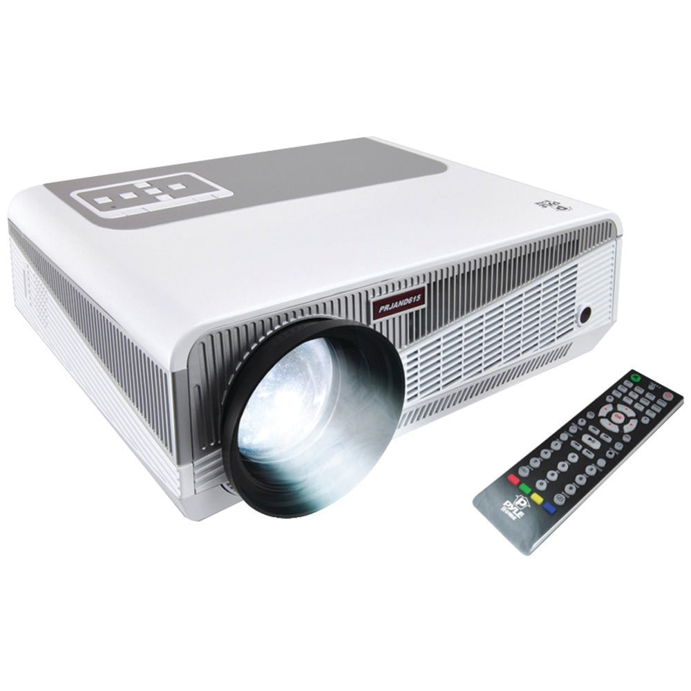 Pyle Home(R) PRJAND615 HD 1080p Smart Projector with Built-in Dual-Core Android(TM) CPU
