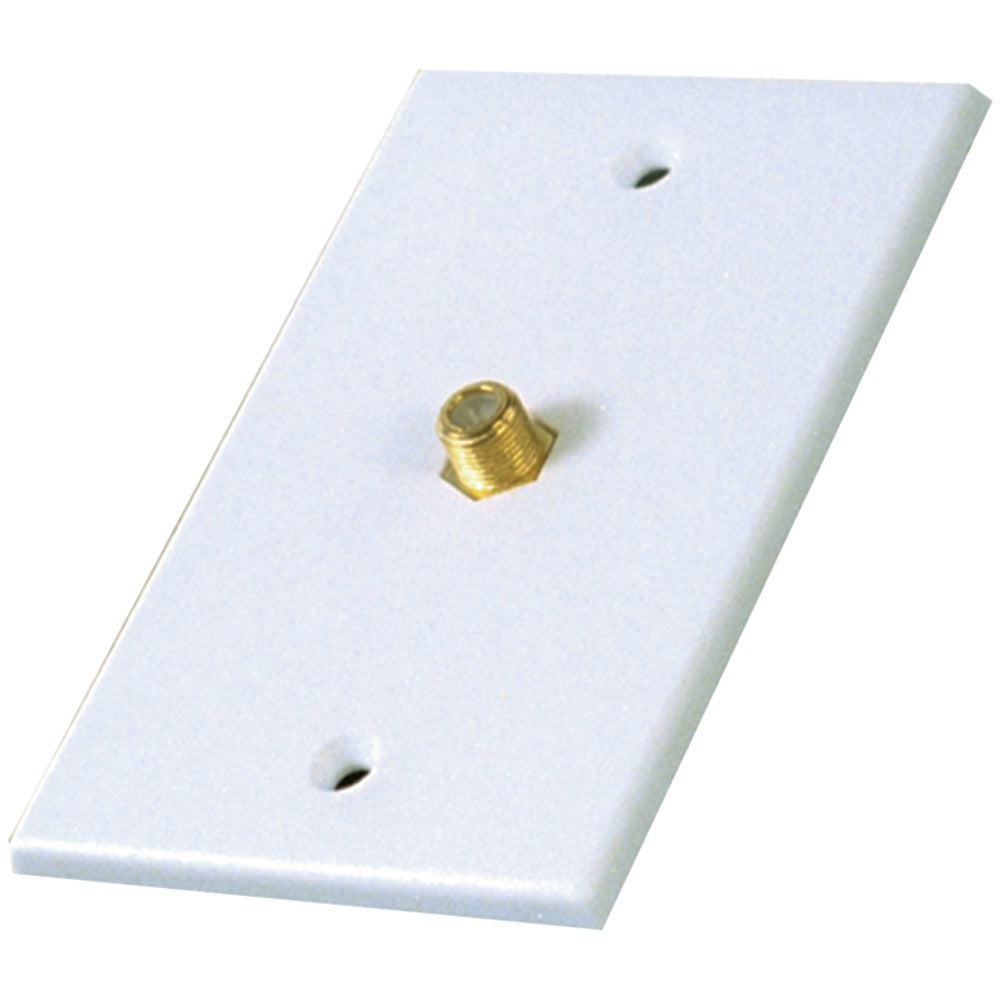 RCA(R) VH61R Single Coaxial In-Line Wall Plate