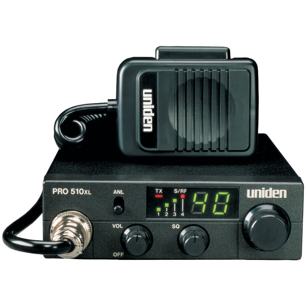 Uniden(R) PRO510XL 40-Channel Compact CB Radio