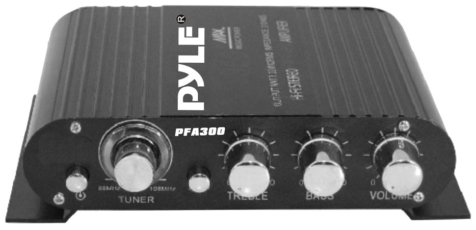 Pyle Amplifier for Car or Home 90W Max