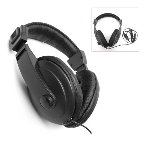 Universal Metal Detector Headphones / Headset Earphones
