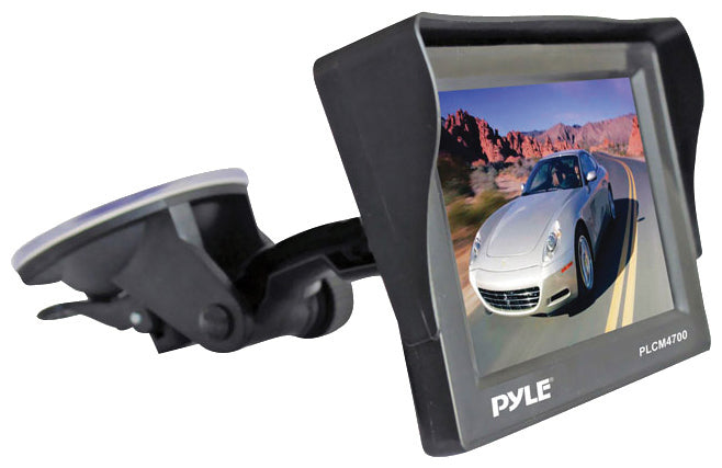"Pyle 4.7"" Monitor w/ Rearview License Plate Camera"
