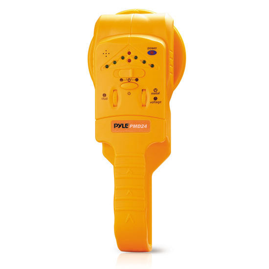 Handheld Stud / Metal/ Voltage Detector W/ Sensitivity Adjustment, Center Location, LED And Audible Alerts