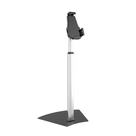 Anti-Theft iPad/Tablet Security Display - Universal Tamper-Proof Device Kiosk Floor Stand (Compatible with iPads Mini/1/2/3/4/Air)