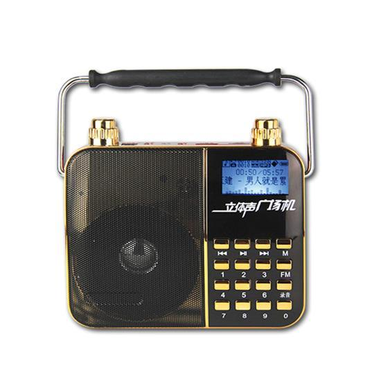 Sing Along Portable Karaoke Radio & PA Speaker System, Compact Headset Microphone Amplifier, Digital Lyrics Display