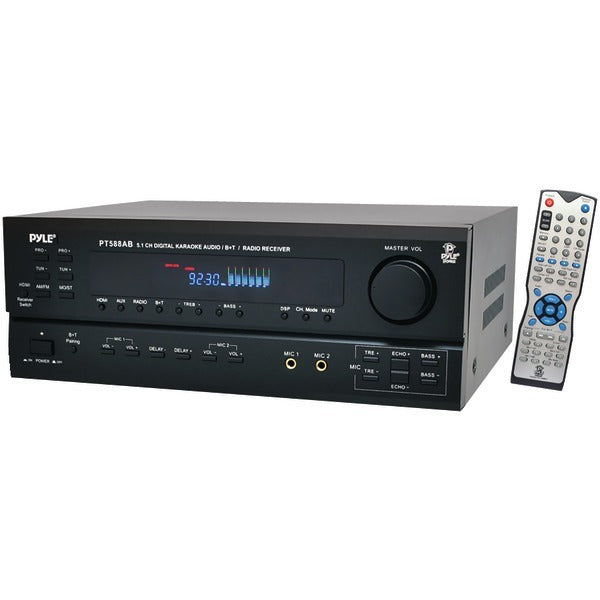 Pyle(R) PT588AB 5.1-Channel Home Receiver with HDMI(R) & Bluetooth(R)