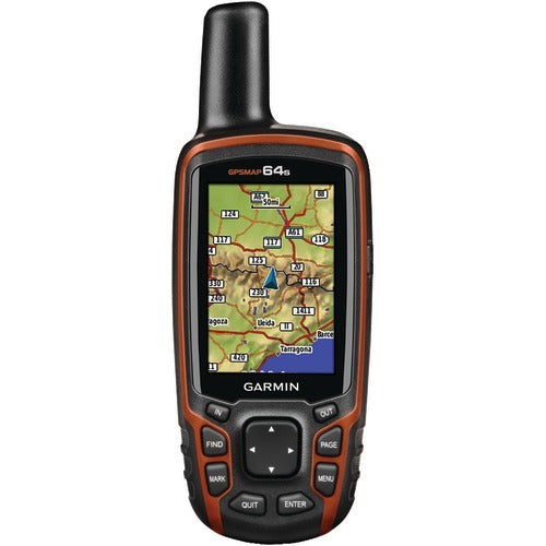 Garmin Gpsmap 64s Worldwide Gps Receiver (birdseye Satellite Imagery Subscription, 3-axis Electronic Compass, Barometric Altimeter & Wireless Connectivity) (pack of 1 Ea)