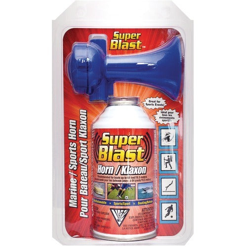 Super Blast⢠Air Horn, 8oz (pack of 1 Ea)