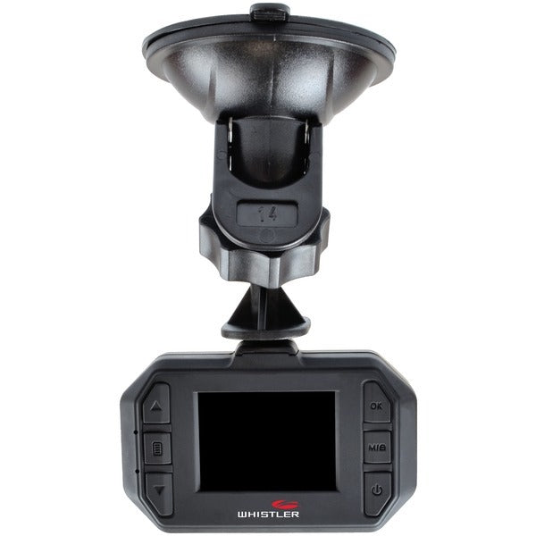 "Whistler D230 Dash Cam With 1.5"" Screen (pack of 1 Ea)"