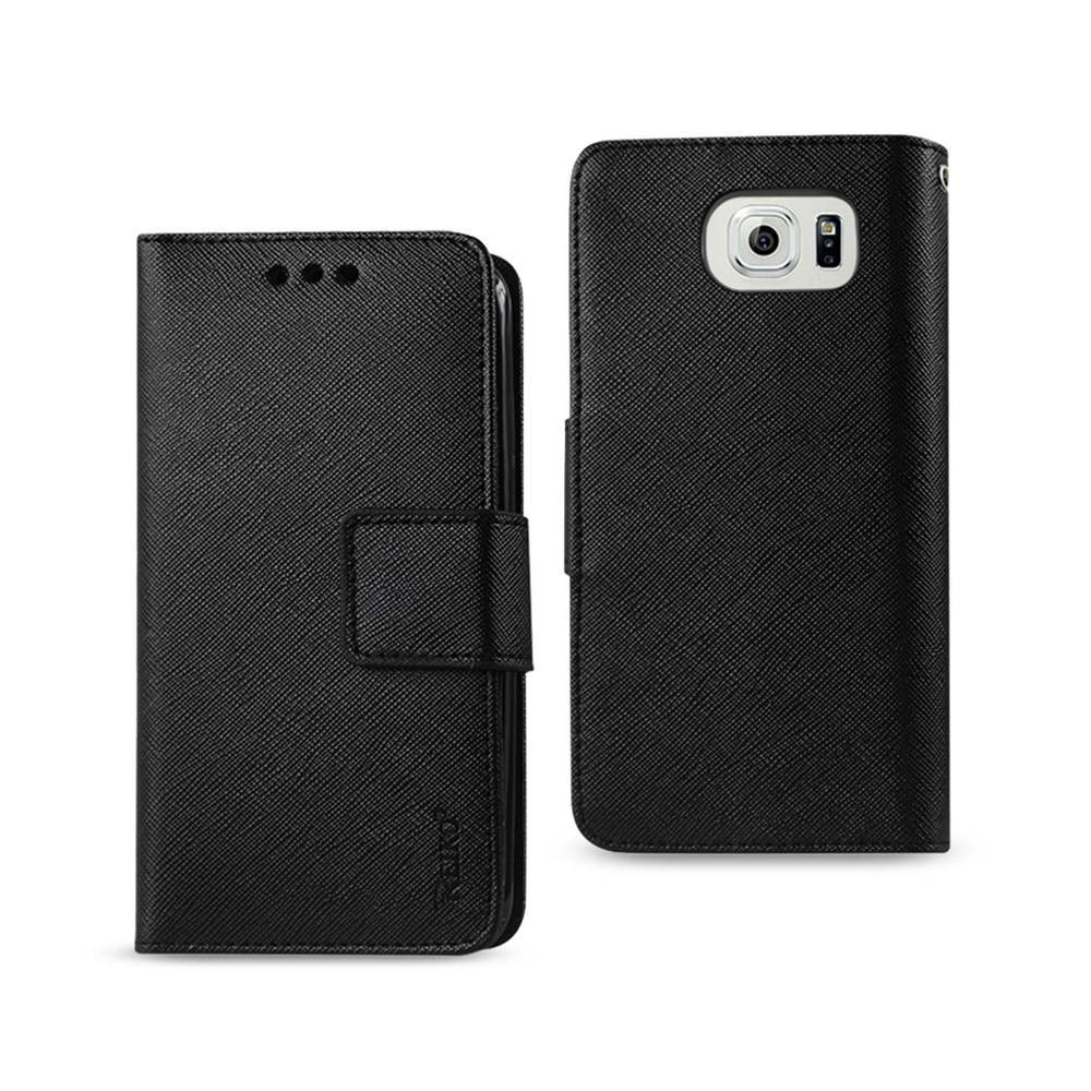 REIKO SAMSUNG GALAXY NOTE 5 3-IN-1 WALLET CASE IN BLACK