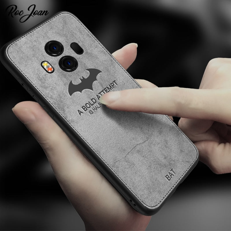 Roc Joan Case For Samsung Galaxy Note 9 Cover TPU Cloth Batman For Samsung Galaxy S8 S9 Plus S7 Edge Note 8 Fitted Case