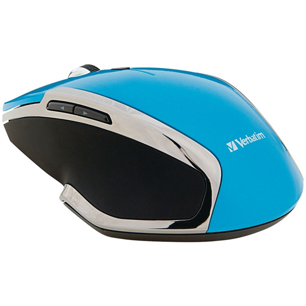Verbatim Wireless Notebook 6-button Deluxe Blue Led Mouse (blue) VTM99016