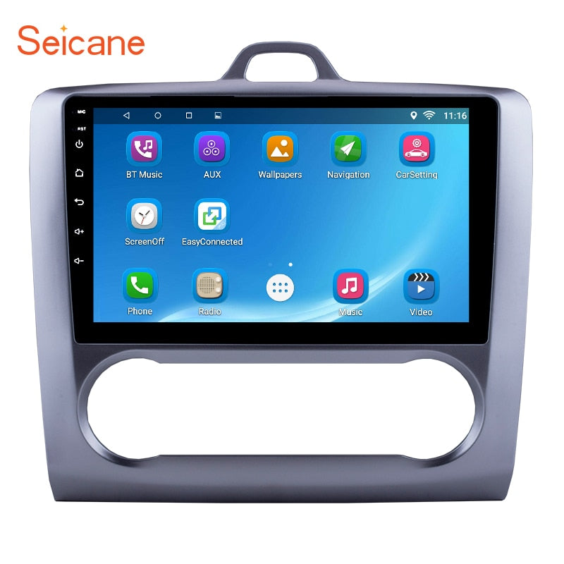 "Seicane 9 "" Touchscreen 2DIN Android 8.1/7.1 1080P headunit multimedia stereo for 2004 2005 2006 2007 2008-2011 Ford Focus"