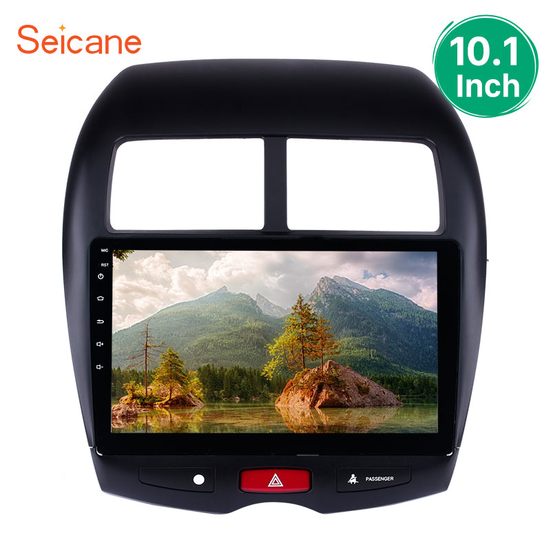 Seicane Android 8.1/7.1/6.0 2Din 10.1 inch Car Radio Stereo For 2012 PEUGEOT 4008 GPS Navigation Multimedia Player 3G Wifi Audio