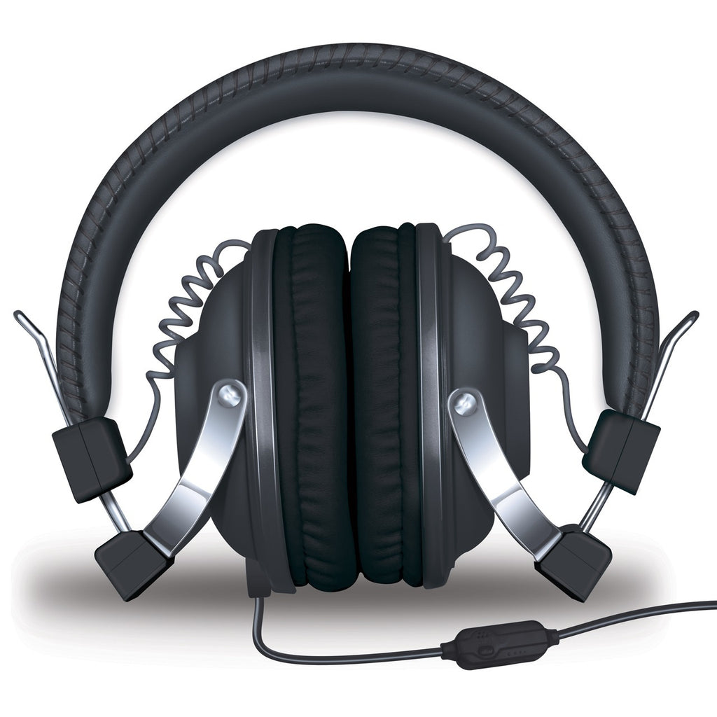 HM-260 Headphones w/Mic Black