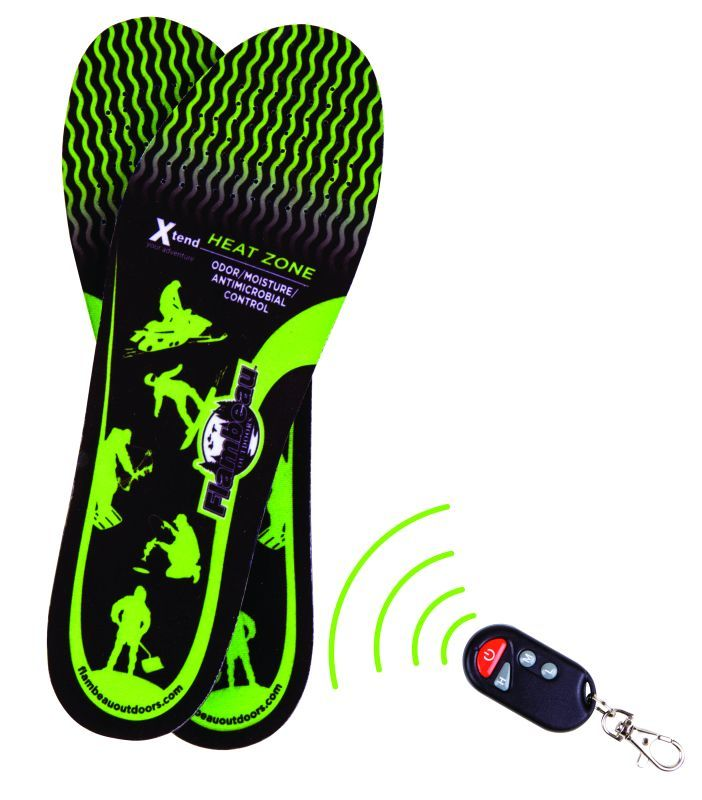 Hot Feet Heated Insoles Kit w/Remote M