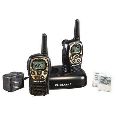 GMRS 2-Way Radio (Up to 24 miles)