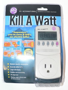 Kill-A-Watt Electric Usage Monitor