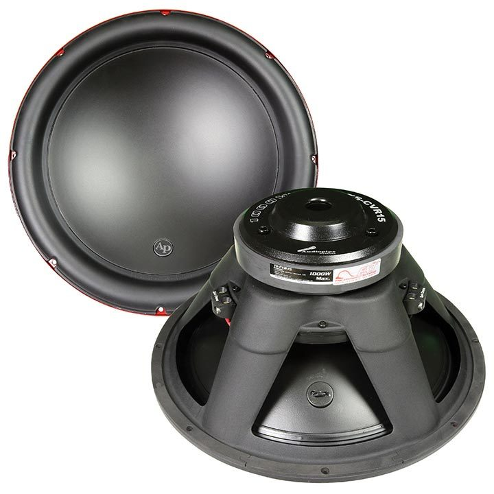 "Audiopipe 15""  Woofer 1000W Max 4 Ohm DVC"