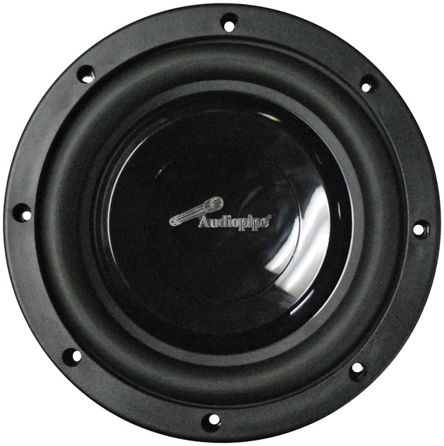 "Audiopipe 8"" Shallow Mount Woofer 300W Max 4 Ohm DVC"