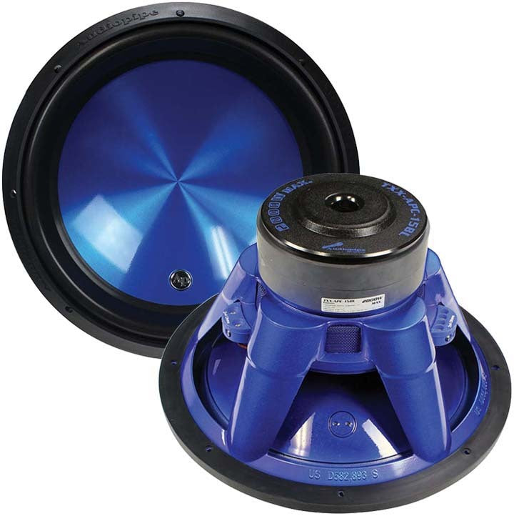 "Audiopipe 15"" Woofer 2000W Max 4 Ohm DVC"