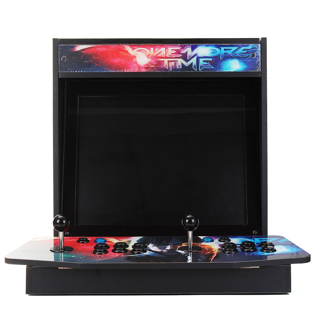 Tabletop Arcade Bartop Cabinet 815 in 1 Box 4S Arcade Game Console Dual Player Double Joystick Arcade Game Console with Display