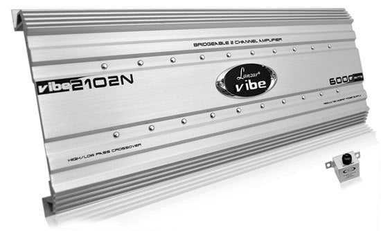 Vibe 6000 Watts 2 Channel Mosfet Amplifier