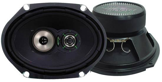 VX 6''x 8'' Three-Way Speakers