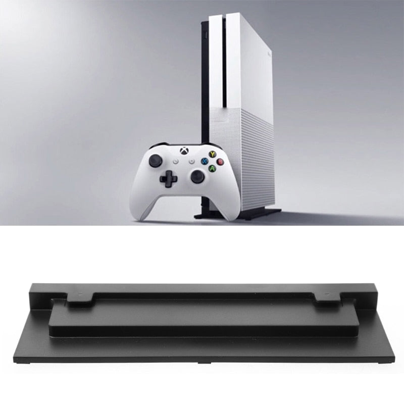 Vertical Host Stand Cooling Base Holder For Xbox One Slim S Video Game Console