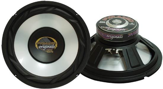 8'' 300 Watts High Power White Injected P.P. Cone Woofer