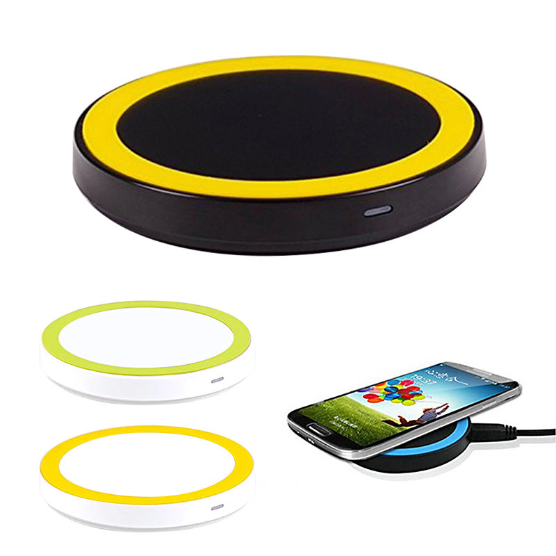 Wireless Charger for iPhone X 8 Plus Wireless Charging for Samsung Galaxy S8 S9 S7 Edge Qi Portable Wireless Charger Portable