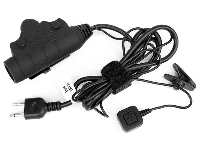 Z TACTICAL U94 headset radio parts PTT NEW VERSION HEADSET headphone CABLE & PTT FOR MIDLAND Mo to rola Kenwood ICOM